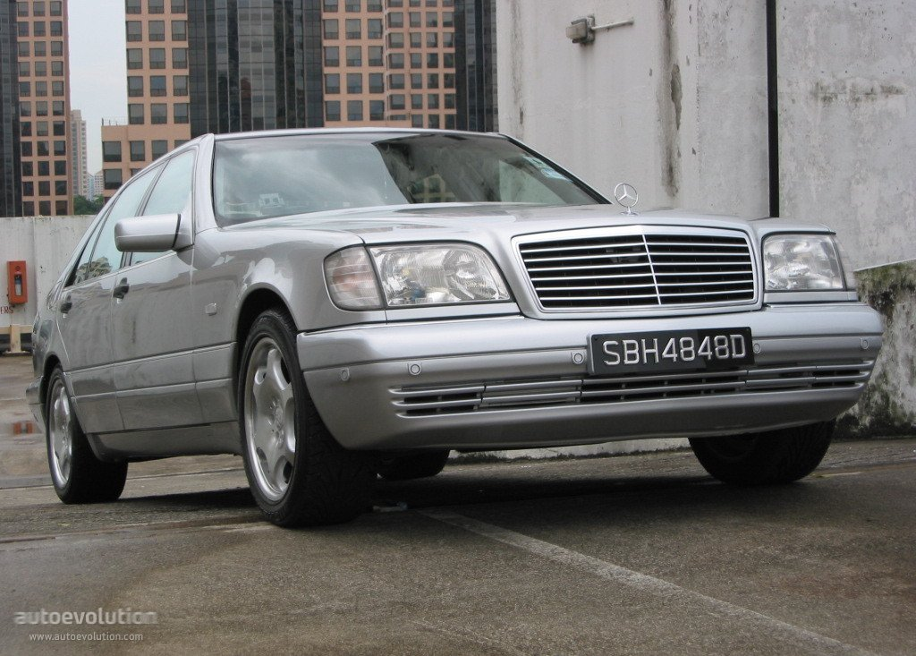 Mercedes benz s klasse w140 specs 1995 1996 1997 for Mercedes benz 1900 model