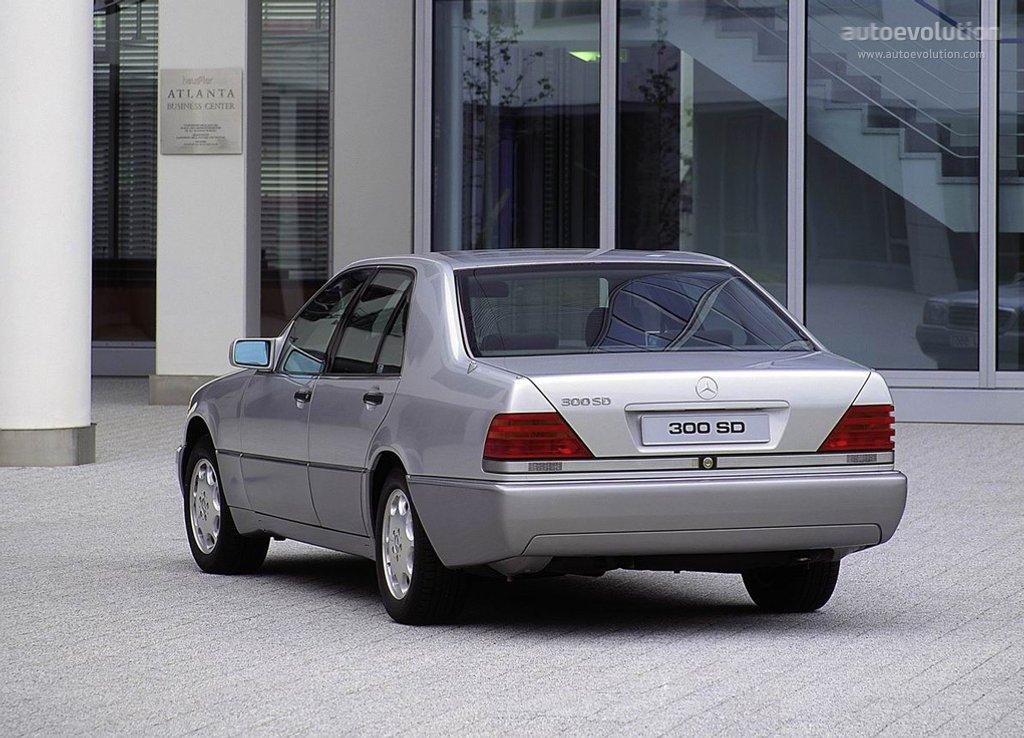 Mercedes Benz S Klasse W140 Specs 1991 1992 1993