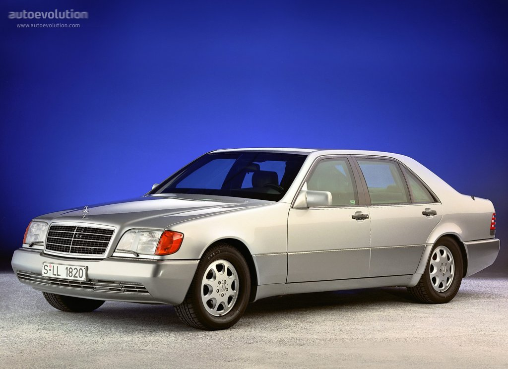 mercedes benz s klasse w140 specs 1991 1992 1993 1994 1995 autoevolution. Black Bedroom Furniture Sets. Home Design Ideas
