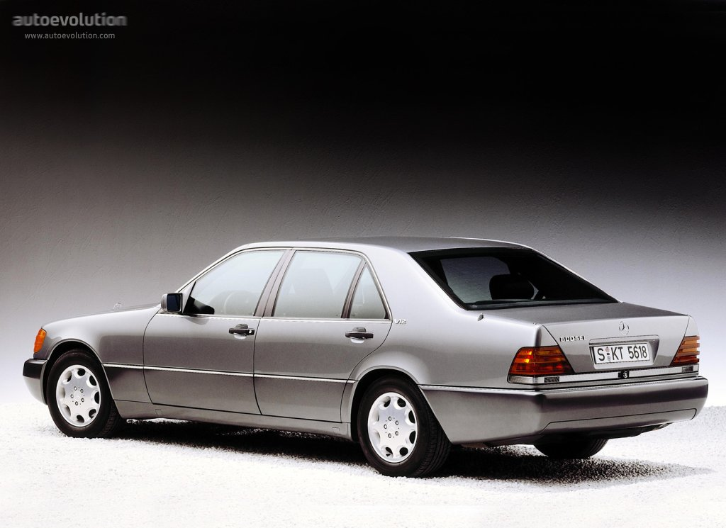 Mercedes Benz S Klasse W140 Specs Amp Photos 1991 1992