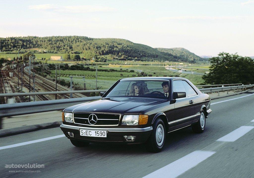 Mercedes benz s klasse coupe c126 specs 1981 1982 for Mercedes benz 1992