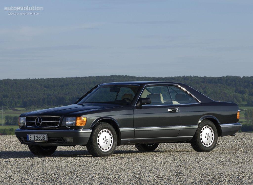 Mercedes Benz S Klasse Coupe C126 Specs 1981 1982