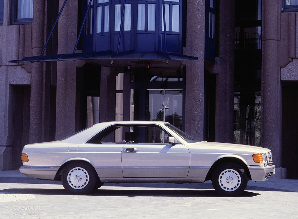 Mercedes Benz S Klasse Coupe C126 Specs Amp Photos 1981