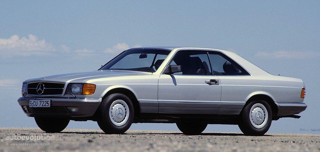 mercedes benz s-klasse coupe  c126  specs