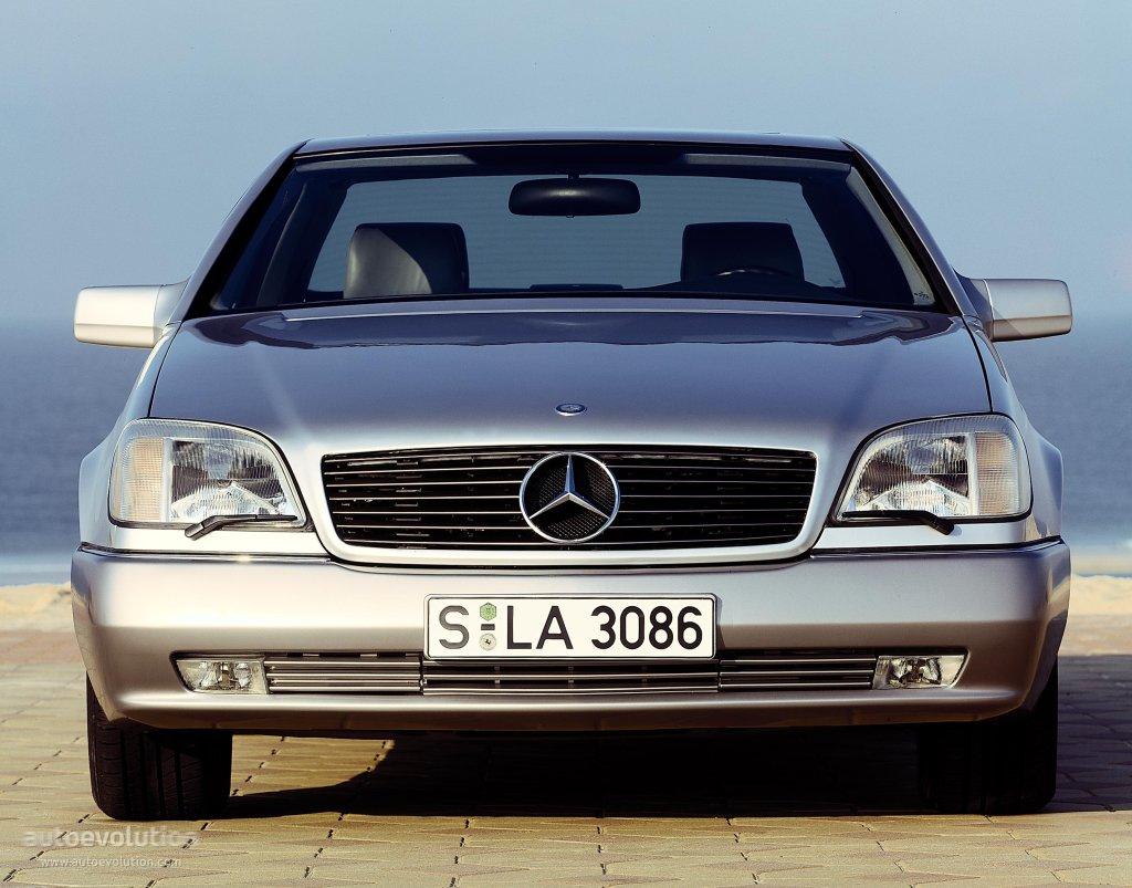 Mercedes Benz S Klasse Coupe C140 1992 1993 1994