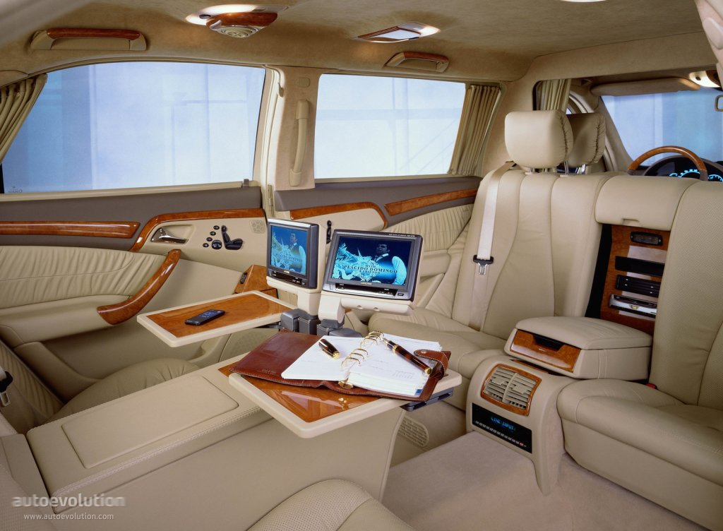 Mercedes benz s klasse pullman v220 2001 2002 Architecture firm for sale