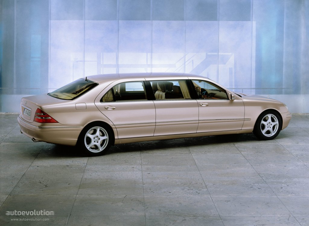 Mercedes benz s klasse pullman v220 specs 2001 2002 for 2001 mercedes benz s500 specs