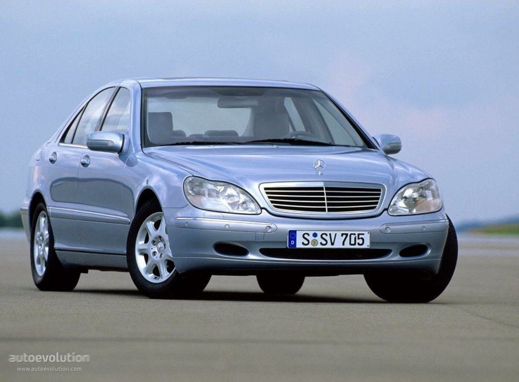mercedes benz s klasse w220 specs 1998 1999 2000. Black Bedroom Furniture Sets. Home Design Ideas