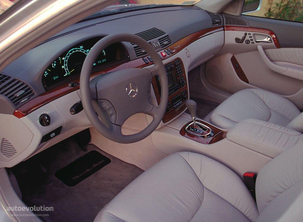 Mercedes Benz S Klasse W220 1998 1999 2000 2001 2002 Autoevolution
