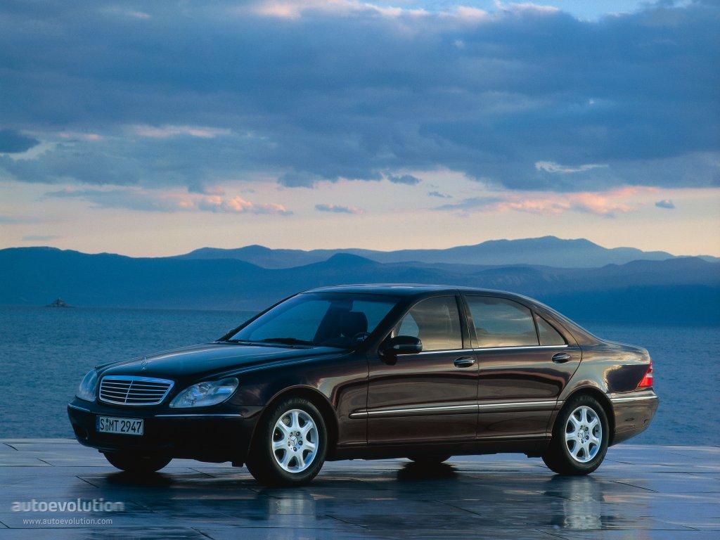 Mercedes benz s klasse w220 1998 2002