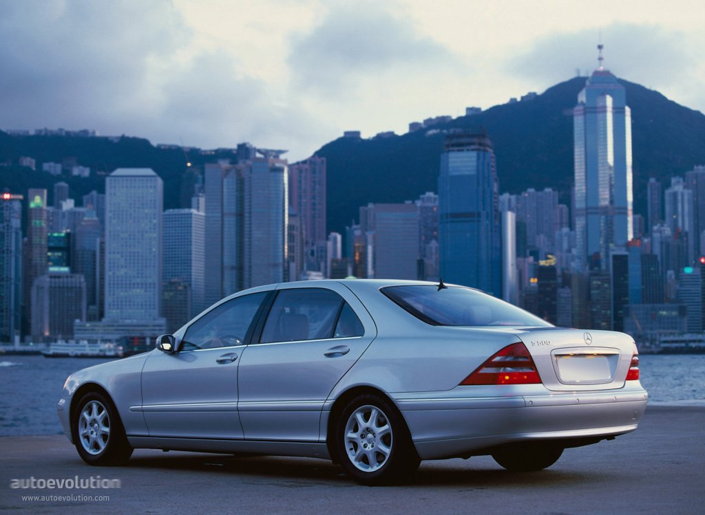 Mercedes Benz Gle Coupe >> MERCEDES BENZ S-Klasse (W220) - 1998, 1999, 2000, 2001 ...