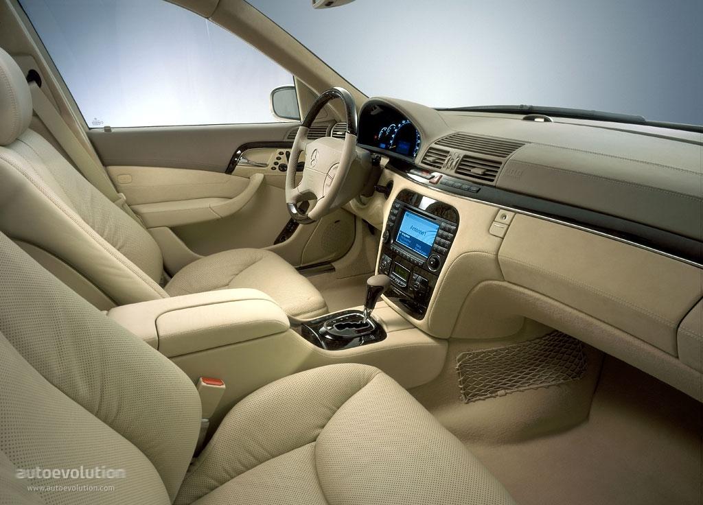 Mercedes benz s klasse w220 2002 2003 2004 2005 for Interieur 05