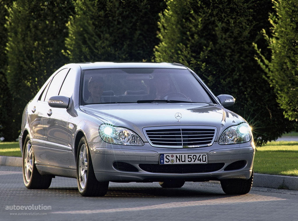 mercedes benz s klasse w220 specs 2002 2003 2004 2005 autoevolution. Black Bedroom Furniture Sets. Home Design Ideas
