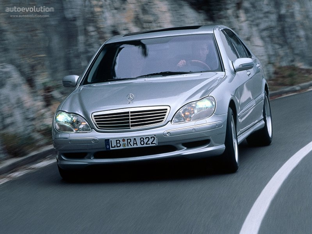 Mercedes benz s 55 amg w220 1999 2000 2001 2002 autoevolution