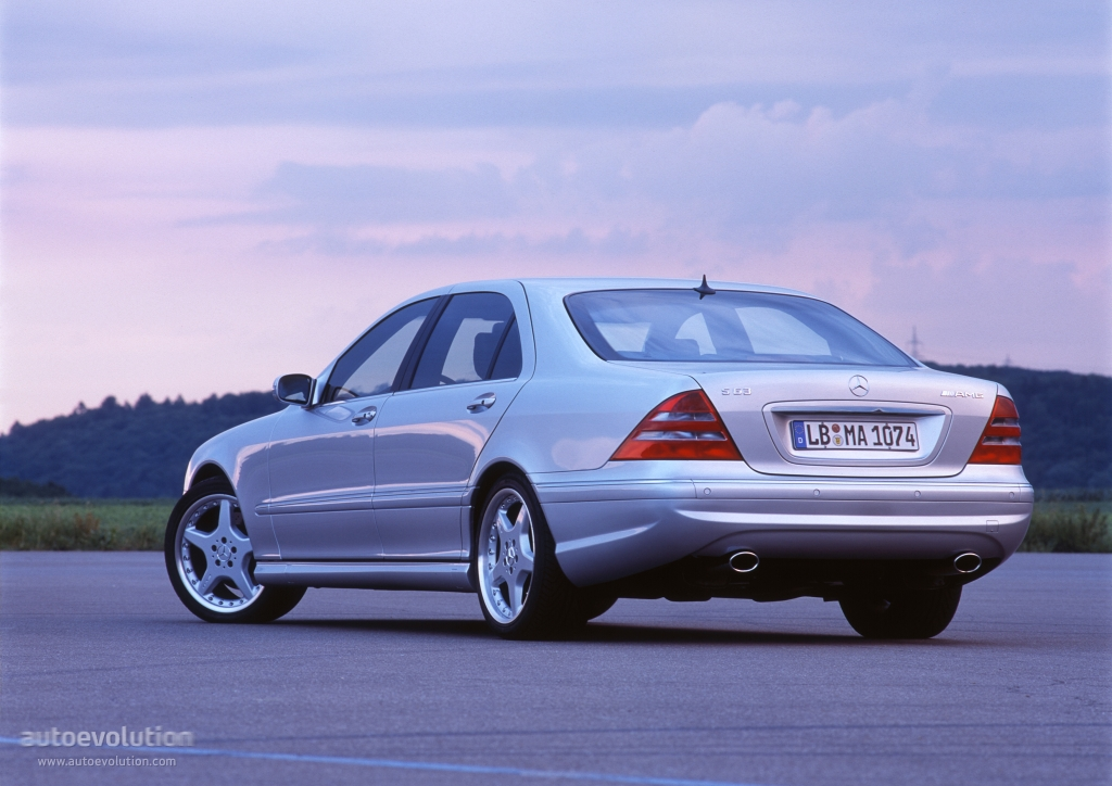 Mercedes benz s 63 amg w220 2001 autoevolution for Mercedes benz s 63 amg