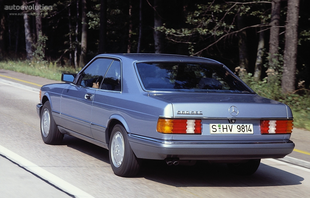 Mercedes Benz S Class W126 560 Sel 279 Hp