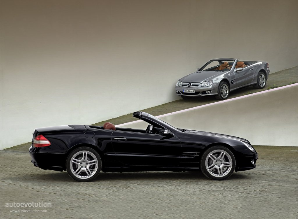Mercedes benz sl klasse r230 specs 2006 2007 2008 for Mercedes benz specs