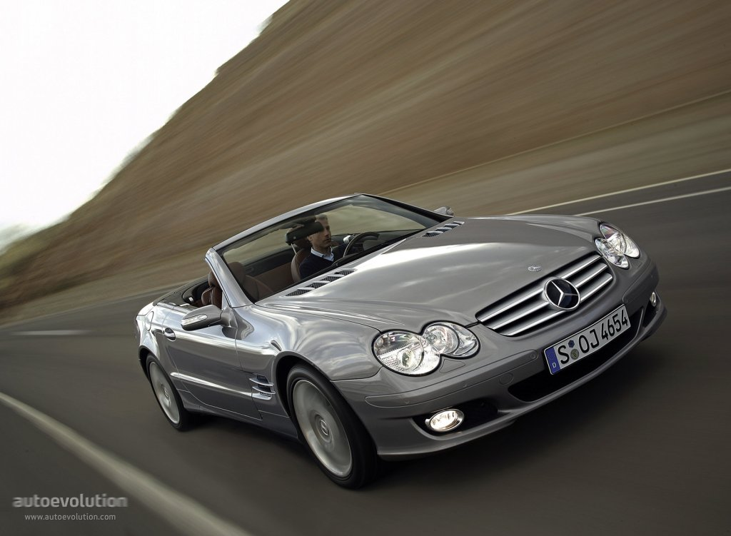 mercedes benz sl klasse r230 specs photos 2006 2007. Black Bedroom Furniture Sets. Home Design Ideas
