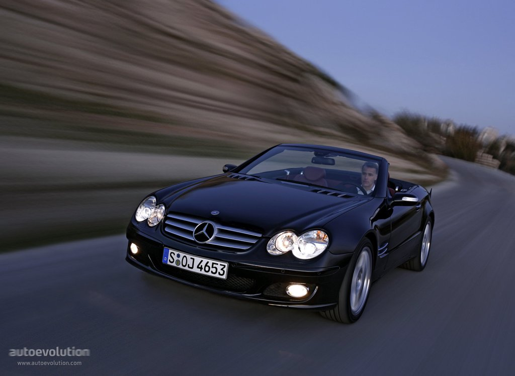 mercedes benz sl klasse r230 specs 2006 2007 2008 autoevolution. Black Bedroom Furniture Sets. Home Design Ideas