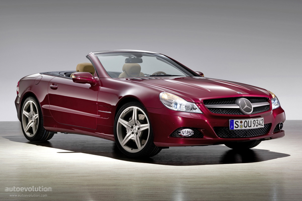 mercedes benz sl klasse r230 specs 2008 2009 2010 2011 autoevolution. Black Bedroom Furniture Sets. Home Design Ideas