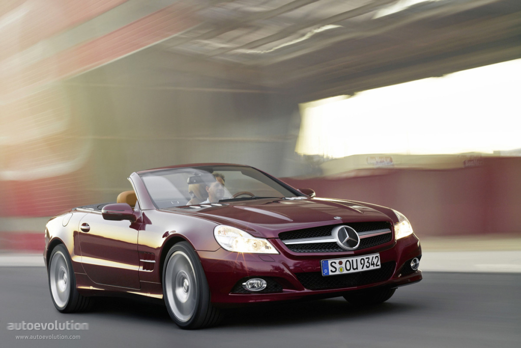 Mercedes benz sl klasse r230 specs 2008 2009 2010 for Mercedes benz modelle