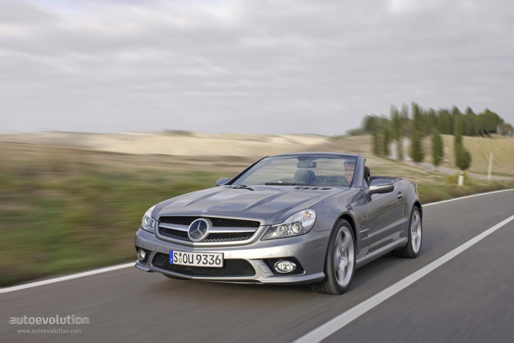 Mercedes benz sl klasse r230 specs 2008 2009 2010 for 2008 mercedes benz sl500