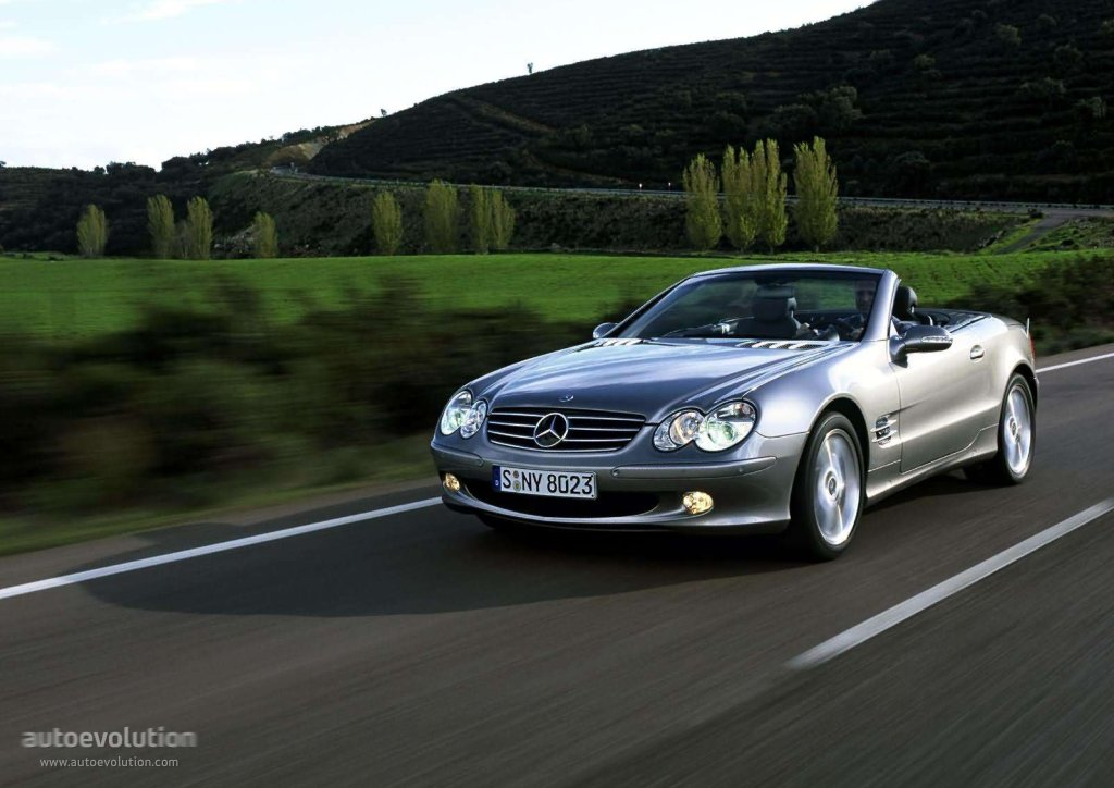 mercedes benz sl klasse r230 specs 2001 2002 2003. Black Bedroom Furniture Sets. Home Design Ideas
