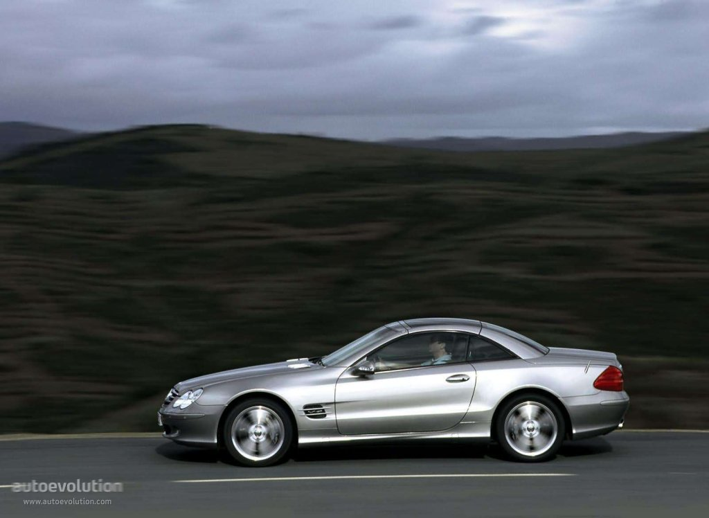 mercedes benz sl klasse r230 specs 2001 2002 2003 2004 2005 2006 autoevolution. Black Bedroom Furniture Sets. Home Design Ideas
