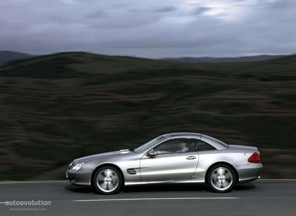 Mercedes Benz Sl Klasse R230 2001 2002 2003 2004