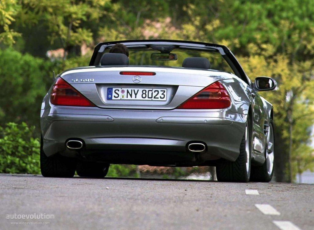 Mercedes Benz Sl Klasse R230 2001 2002 2003 2004 2005 2006 Autoevolution