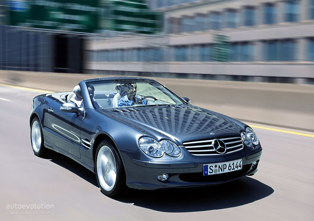 mercedes benz sl klasse r230 specs photos 2001 2002. Black Bedroom Furniture Sets. Home Design Ideas