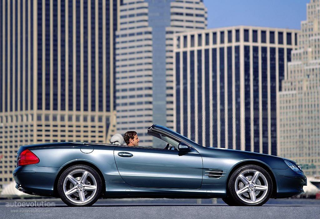 Mercedes Benz Sl Klasse R230 Specs 2001 2002 2003