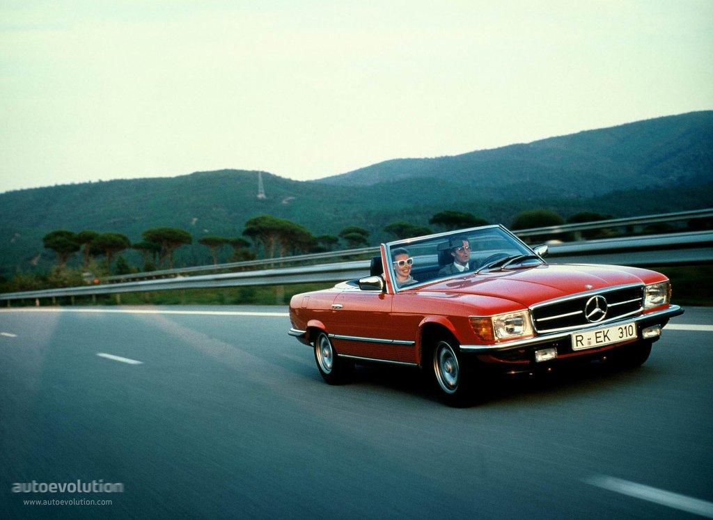 Mercedes Benz Sl R107 1971 1972 1973 1974 1975