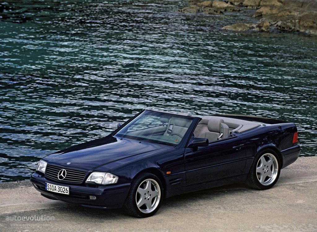 mercedes benz sl r129 specs photos 1995 1996 1997. Black Bedroom Furniture Sets. Home Design Ideas
