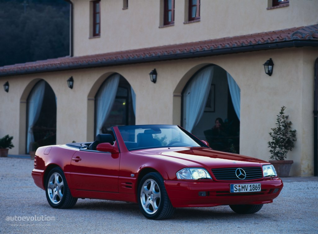 MERCEDES BENZ SL (R129) specs & photos - 1998, 1999, 2000 ...