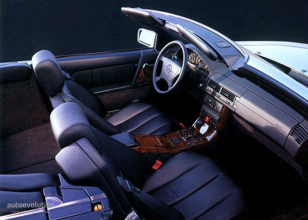 Mercedes Benz Sl Sel R129 Specs 1989 1990 1991 1992