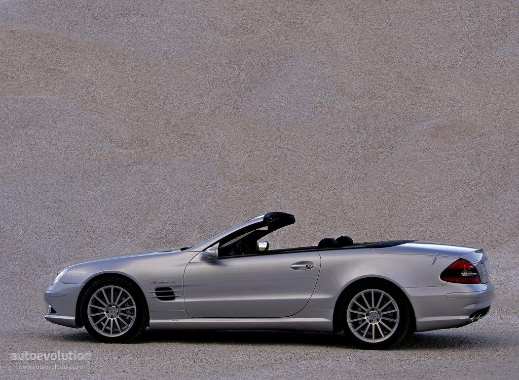 Mercedes benz sl 55 amg r230 specs 2006 2007 2008 for Mercedes benz sl 55 amg
