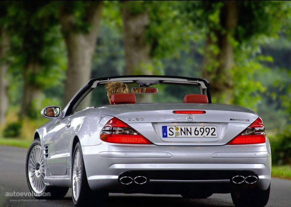 Mercedes benz sl 55 amg r230 specs 2002 2003 2004 2005 2006 autoevolution
