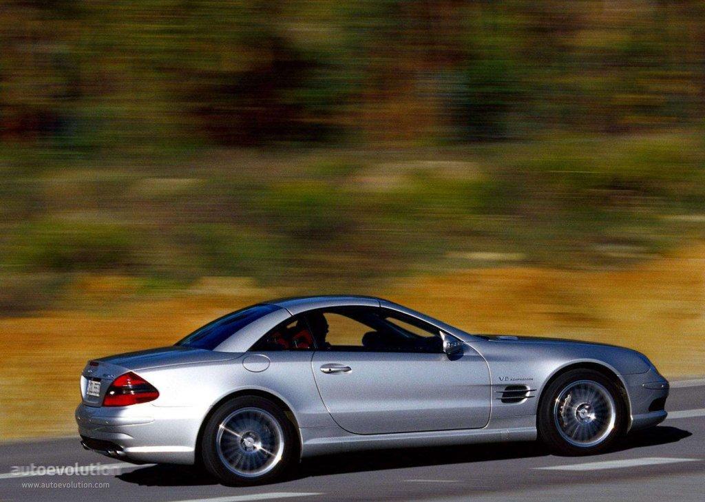 Mercedes benz sl 55 amg r230 2002 2003 2004 2005 for Mercedes benz sl55 amg