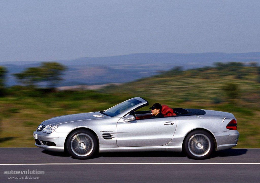 mercedes benz sl 55 amg r230 specs photos 2002 2003. Black Bedroom Furniture Sets. Home Design Ideas