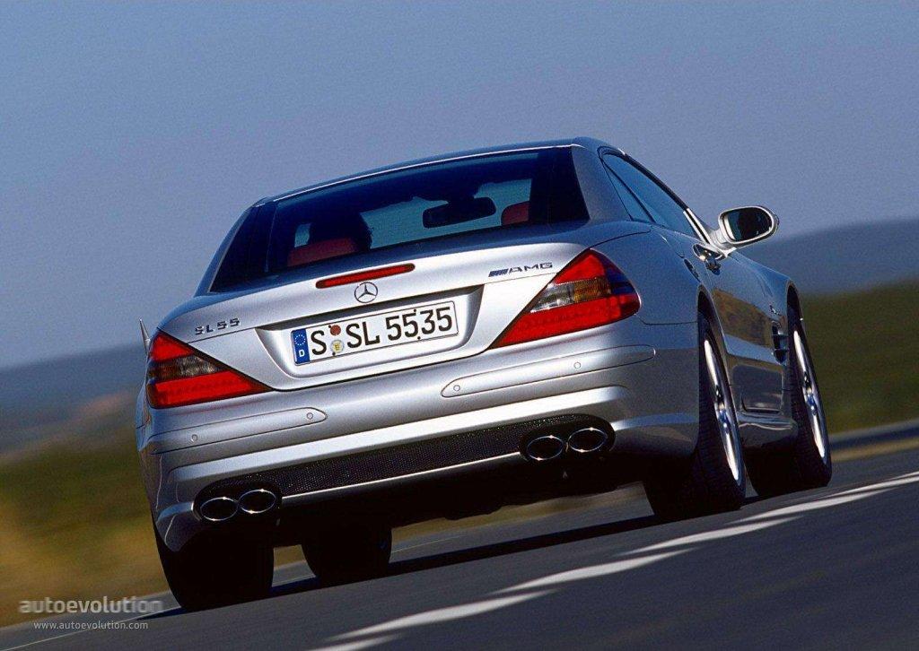 Mercedes Benz Sl 55 Amg R230 2002 2003 2004 2005