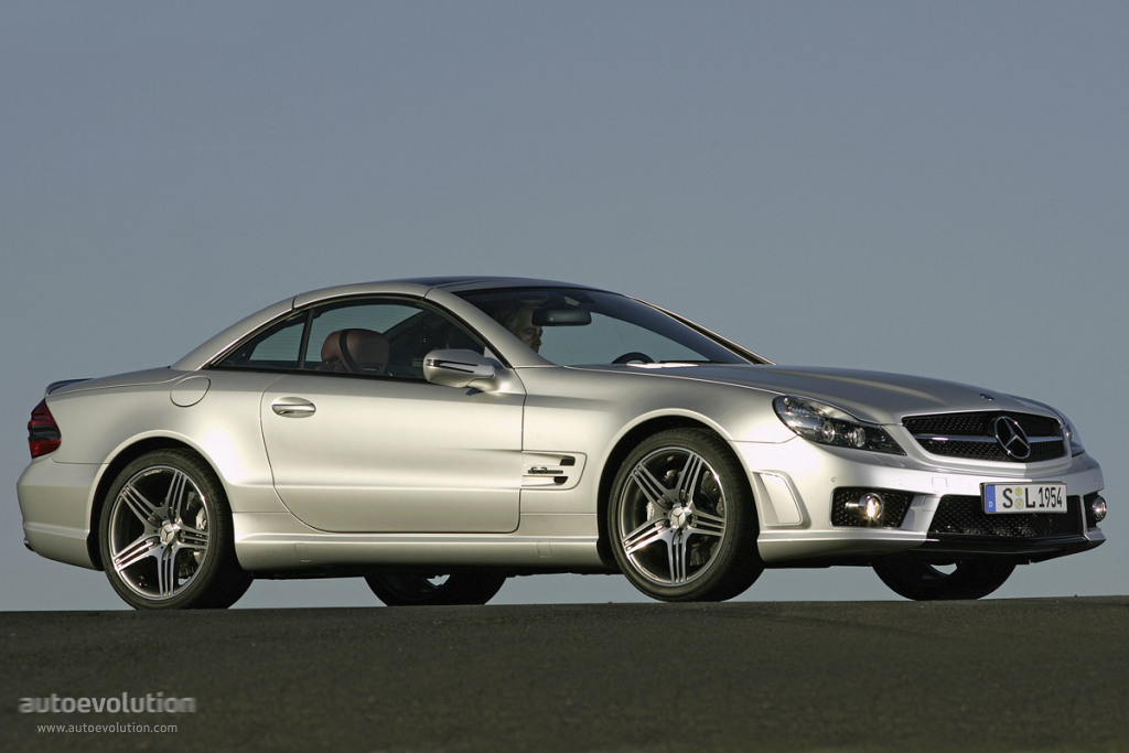 Mercedes Benz Sl 63 Amg R230 Specs Amp Photos 2008 2009