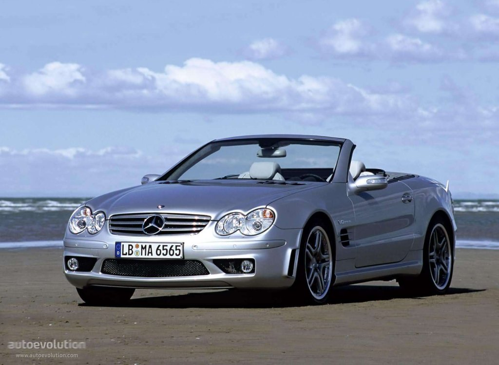 MERCEDES BENZ SL 65 AMG (R230) specs & photos - 2004, 2005 ...