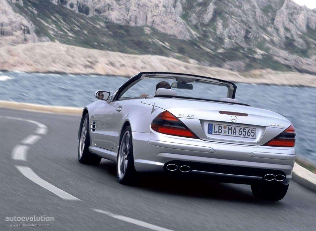 Mercedes benz sl 65 amg r230 specs 2004 2005 2006 for Mercedes benz sl55 amg specs