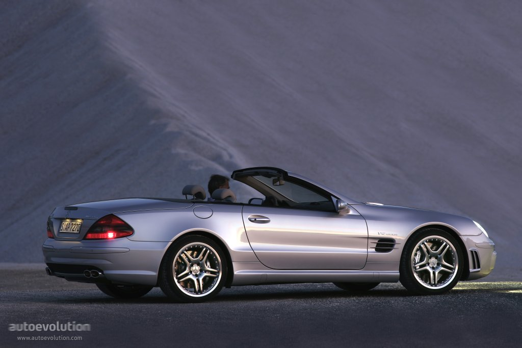 Mercedes B Class Electric >> MERCEDES BENZ SL 65 AMG (R230) specs - 2006, 2007, 2008 - autoevolution