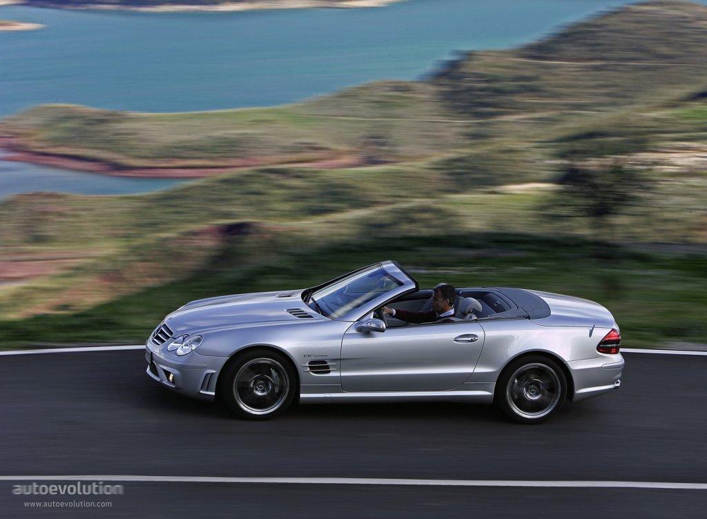 Mercedes benz sl 65 amg r230 specs 2006 2007 2008 for Mercedes benz sl55 amg specs