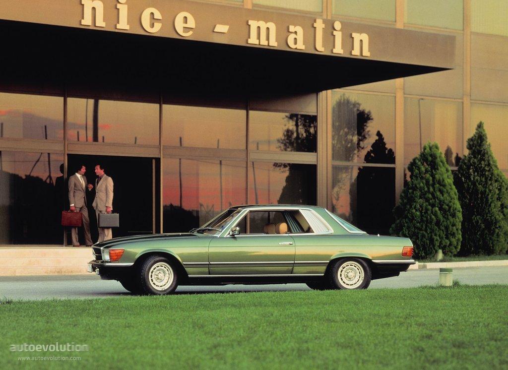 MERCEDES BENZ SLC (C107) specs - 1972, 1973, 1974, 1975 ...