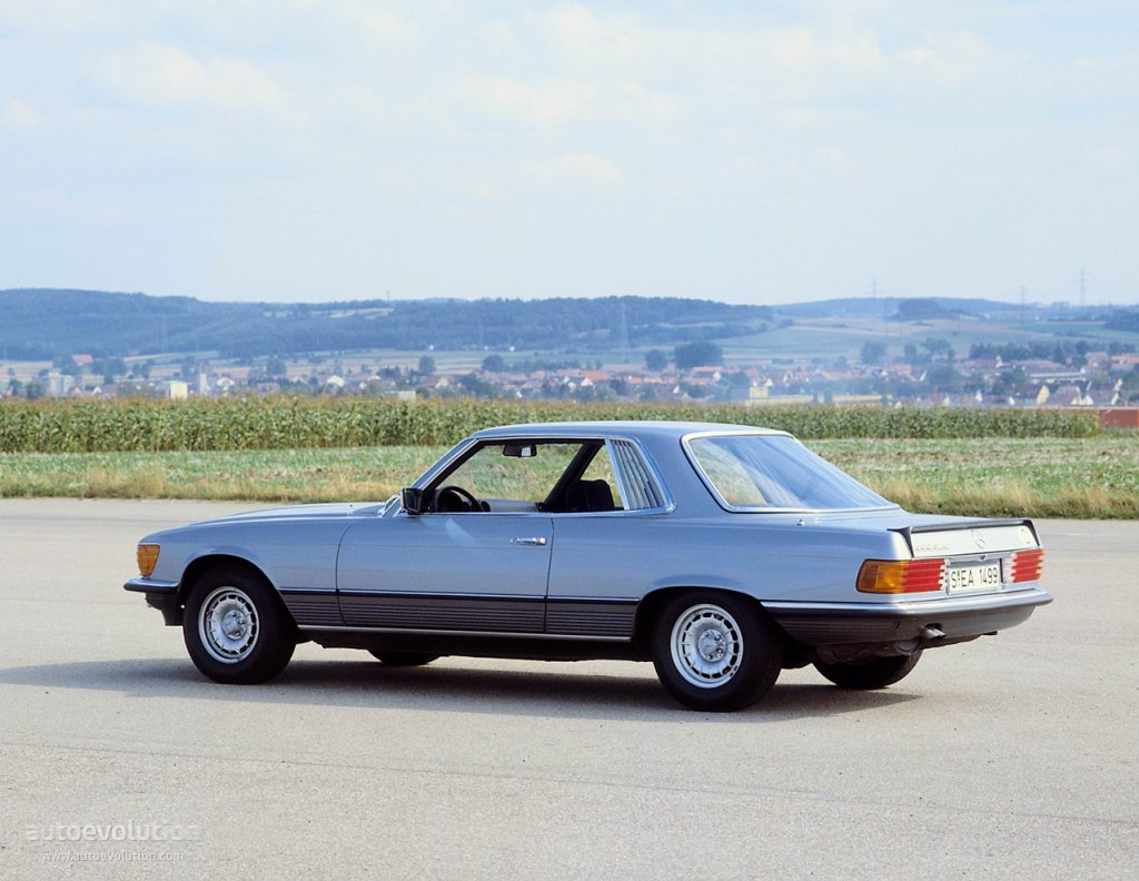 Mercedes Benz Slc C107 1972 on evolution engine