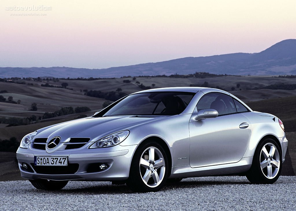 mercedes benz slk r171 specs photos 2004 2005 2006. Black Bedroom Furniture Sets. Home Design Ideas
