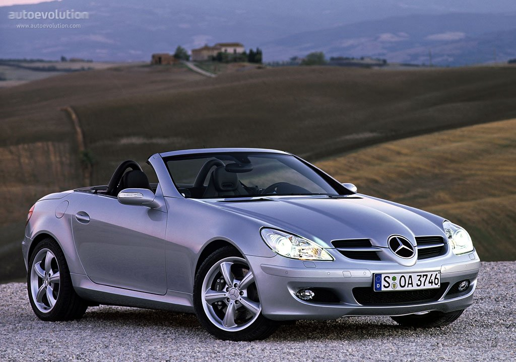 Mercedes Benz Slk R171 2004 on alfa romeo convertible
